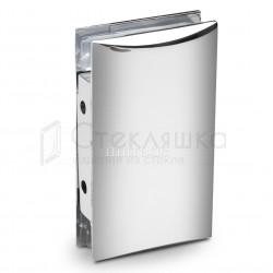 Коннектор стекло-стена хром