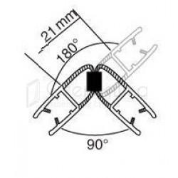 Магнитный профиль 180/90гр., 2.2м.