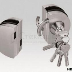 Замок для раздвижной двери, ключ HDL - 010