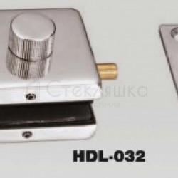 Задвижка с ответной частью в стену HDL - 032
